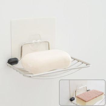 《舒適屋》無痕貼系列-304不鏽鋼肥皂架