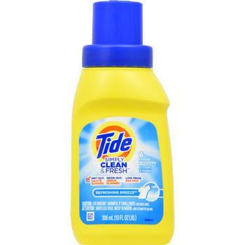 【數量有限】【美國原裝進口】美國 Tide 洗衣精(清新微風香)10oz(306ml)x12