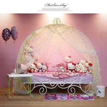 【Kids Castle】兒童城堡 瑪莉公主兒童造型單人床架(含床墊 床包 枕心)