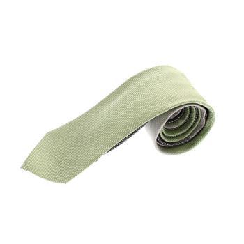 EMPORIO ARMANI 頂級漸層窄版領帶  淺綠款