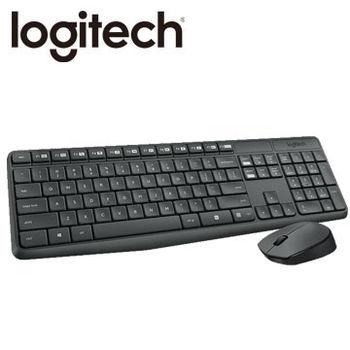 【Logitech 羅技】 MK235無線滑鼠鍵盤組