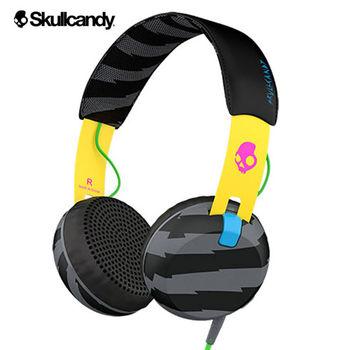 《Skullcandy》Grind葛萊 大耳罩式耳機-迷彩黃黑