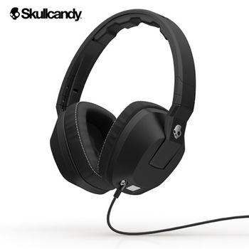 《Skullcandy》Crusher跨許 大耳罩式震動耳機-黑