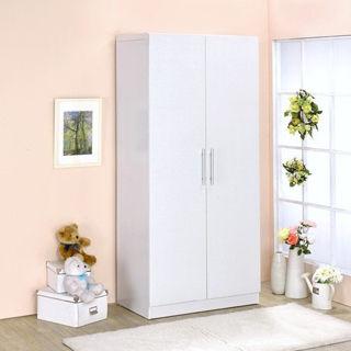 【傢俱屋】二門衣櫥-二色