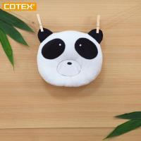~COTEX Sikaer 竹纖維~熊貓枕 嬰兒枕 塑頭型枕 於嬰兒床 嬰兒手推車