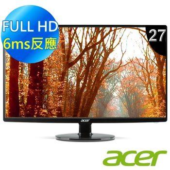 【Acer】S271HL 27型超薄美型廣視角液晶螢幕