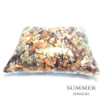 【SUMMER寶石】《五行水晶2公斤》天然開運水晶碎石(除穢氣、開運必備)
