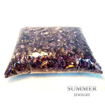 【SUMMER寶石】《紫水晶2公斤》天然開運水晶碎石(除穢氣、開運必備)