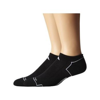 【Adidas】2016男時尚Climacool黑色低切短襪2入組(預購)