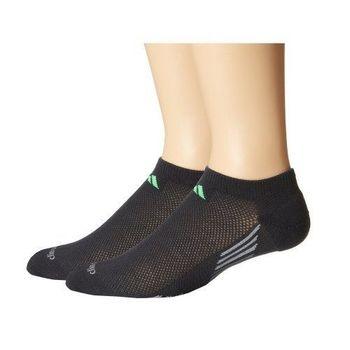 【Adidas】2016男Climacool碳黑色低切短襪2入組(預購)