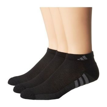 【Adidas】2016男Climacool黑色輕柔短襪3入組(預購)
