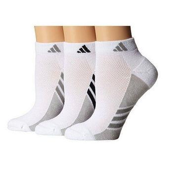 【Adidas】2016女Climacool白色低切短襪3入組(預購)