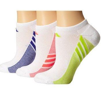 【Adidas】2016女Climacool白色無外露短襪3入組(預購)