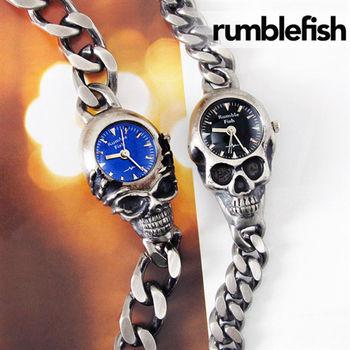 Rumble Fish復古質感骷顱頭造型潮錶