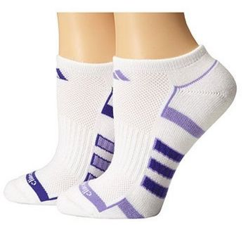 【Adidas】2016女Climalite白色無外露襪子2入組(預購)