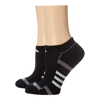 【Adidas】2016女Climalite黑色無外露襪子2入組(預購)