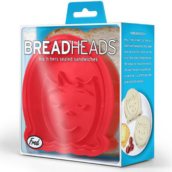 Fred  Friends-Bread Head 麵包轉印造型模具