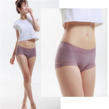 【堤娜蜜 Tina mi】7A017 5件組 台灣製杜邦材質竹炭褲底蕾絲褲
