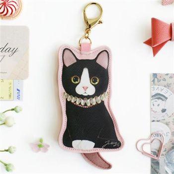 【ZARATA】Jetoy甜蜜貓娃娃鑰匙圈零錢包_Coco-ZARATA