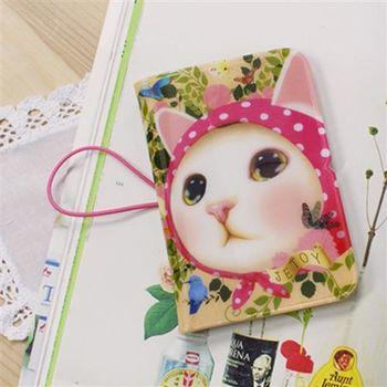 【ZARATA】甜蜜貓卡套(new)_Pink hood