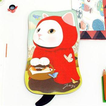 【ZARATA】甜蜜貓第二代娃娃造型萬用包_Red hood