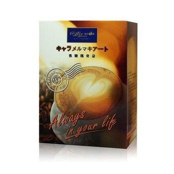 珈的工房 焦糖瑪奇朵  即溶咖啡 (15包x6盒)