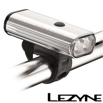 LEZYNE POWER DRIVE 900XL USB充電光學透鏡LED高亮度競速夜騎照明警示前燈(銀)