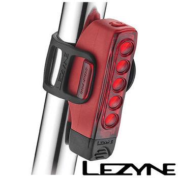 LEZYNE STRIP DRIVE PRO USB充電光學透鏡LED警示尾燈(紅)