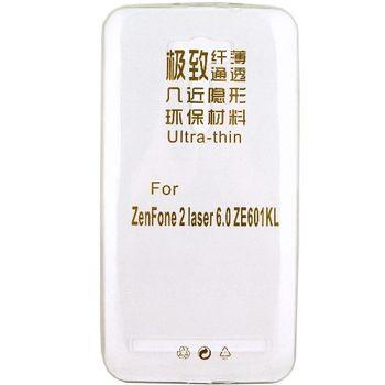 【KooPin力宏】ASUS ZenFone 2 Laser 6吋(ZE601KL)極薄隱形保護套/清水套