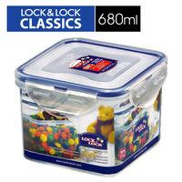~樂扣樂扣~微波加熱方型保鮮盒 ^#45 680ml ^#40 HPL851 ^#41