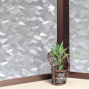 日本MEIWA節能抗UV靜電3D窗貼 (片片星鑽) 46x100公分