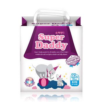 Super Daddy Original Fit  Pants XL(9~13kg)超級爸爸 自然合身紙尿褲 (20片)  4包