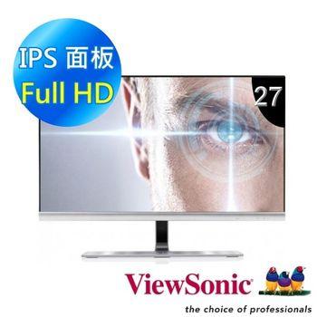 ViewSonic 優派 VX2771 27吋IPS無邊框螢幕(高雅銀)