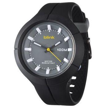 JAGA捷卡 AQ1008-A blink 果凍繽紛潮流防水指針錶(黑)