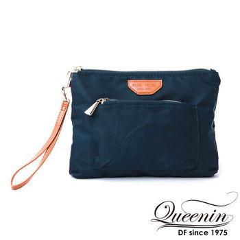 DF Queenin日韓 - 日本暢銷休閒款隨身手拿包
