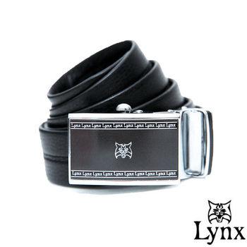 Lynx - 山貓城市系列爵士款自動扣真皮皮帶