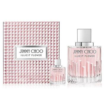 JIMMY CHOO ILLICIT FLOWER 慾望城市女性淡香水 60ml+同款小香 4.5ml