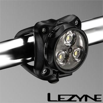 LEZYNE ZECTO DRIVE USB充電光學透鏡LED警示照明前燈(黑)