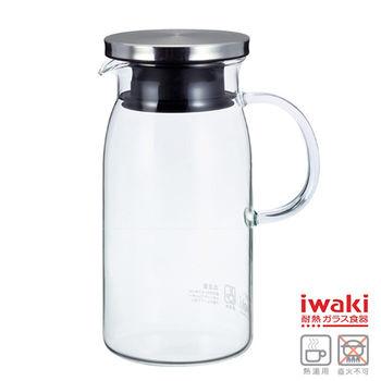 【iwaki】耐熱玻璃水壺 600ml