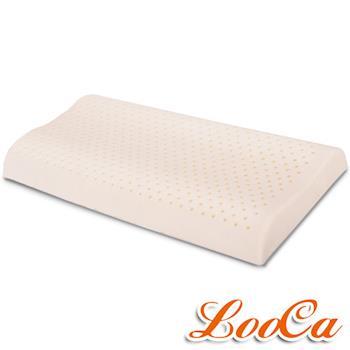 《贈枕套》LooCa 加強透氣型工學乳膠枕-童枕(1入)