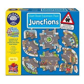 英國Orchard Toys幼兒地板大拼圖 聯絡道   Junctions 擴充組