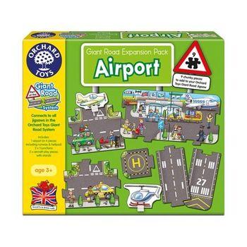 英國Orchard Toys幼兒地板大拼圖 飛機場 Airport 擴充組