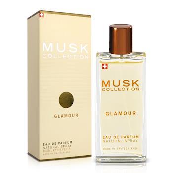 Musk Collection 瑞士 經典金麝香女性淡香精(100ml)-送品牌身體乳&紙袋