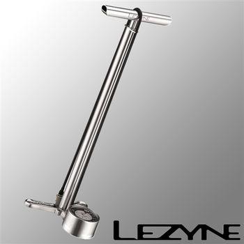 LEZYNE CNC FLOOR DRIVE直立式打氣筒(銀)