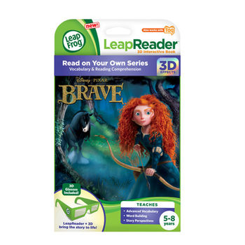 《LeapFrog 跳跳蛙》美國跳跳蛙LeapFrog-全英電子閱讀筆書籍-勇氣3D