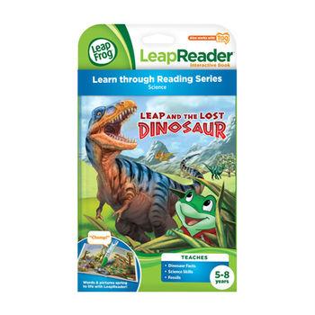 《LeapFrog 跳跳蛙》美國跳跳蛙LeapFrog-全英電子閱讀筆書籍-跳跳蛙迷路恐龍歷險記