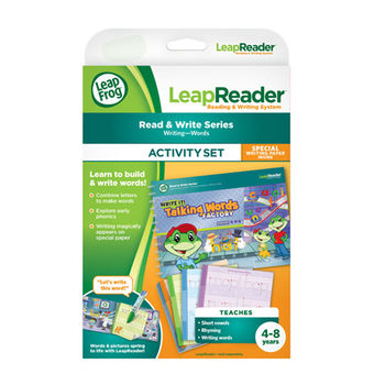 《LeapFrog 跳跳蛙》美國跳跳蛙LeapFrog-學習單字工廠寫字練習簿