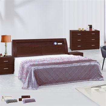 【時尚屋】[UZ6]泰豐6尺加大雙人床UZ6-80-3+80-4 不含床頭櫃-床