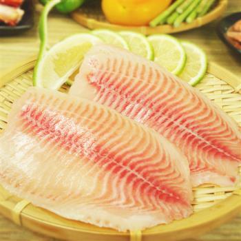《賣魚的家》台灣鯛魚片(155g/片,共兩片)