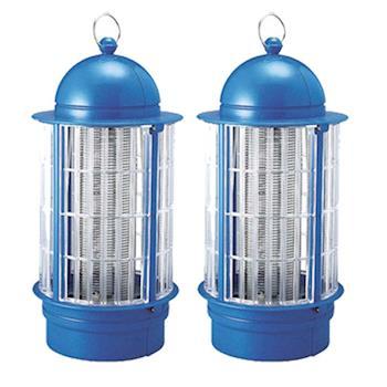 《超值2入組》【安寶】台灣製造6W捕蚊燈AB9211